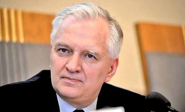 Jarosław Gowin ostrzegał sędziów, że zamiast skalpelem będą operowani młotkiem