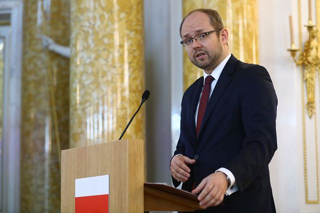 Wiceszef MSZ Marcin Przydacz komentuje wydarzenia w Iranie.