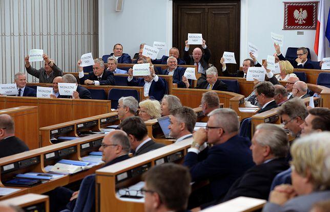 Kilka dni wcześniej zmiany przyjął Sejm