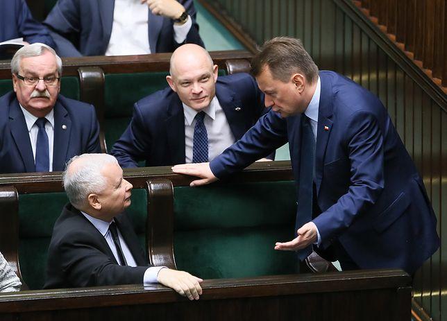 Jarosław Kaczyński, Mariusz Błaszczak