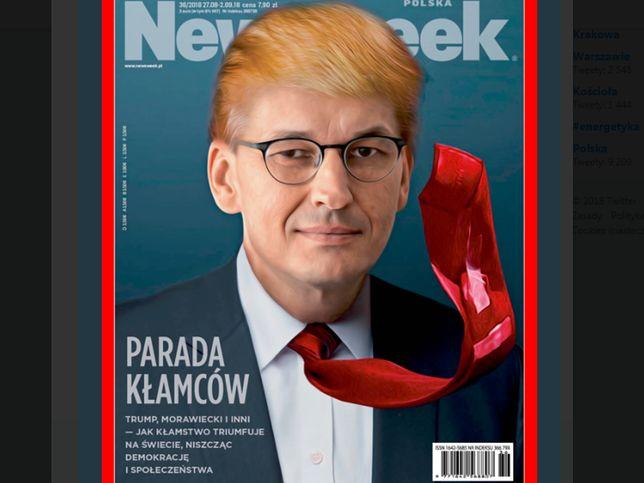 """Tak wygląda okładka najnowszego """"Newsweeka"""""""