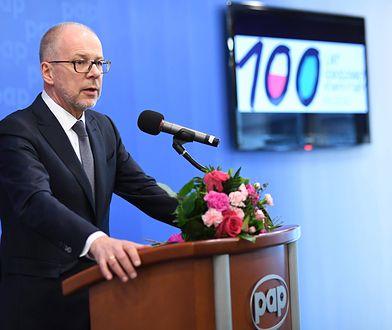 Jacek Trela, prezesa NRA