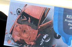 Czerwona kartka za przekroczenie prędkości na autostradzie