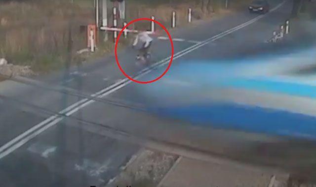 Rowerzysta wjechał w pędzące Pendolino