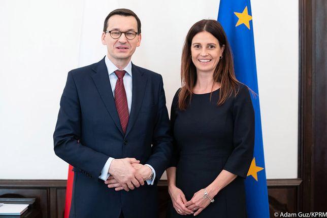 Minister sportu. Premier Mateusz Morawiecki przedstawił kandydatkę
