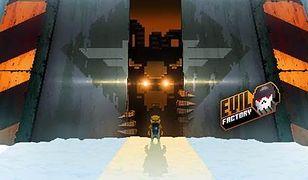 Przekrocz próg fabryki zła, pokonaj bossów i uratuj świat w Evil Factory