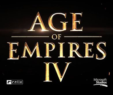 "Logo gry ""Age of Empires IV"""