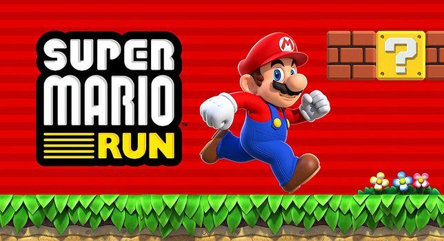 Super Mario Run - logo gry