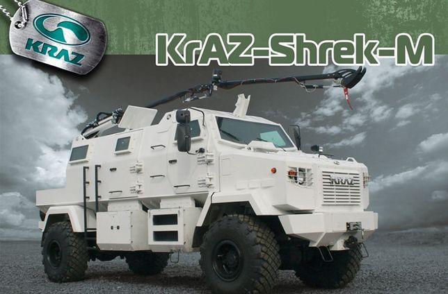 Kraz to ukraiński producent pojazdów militarnych i ciężarówek