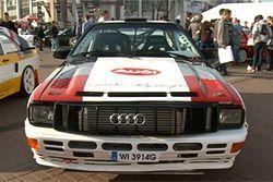 Zlot Audi quattro w Poznaniu