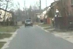 Pijany kierowca pędził wąskimi ulicami