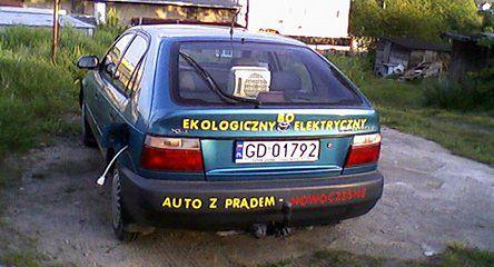 Zamień swoje auto na elektryczne