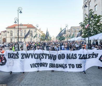 """Marsz Zwycięstwa w Warszawie. """"Przeszliśmy!"""""""