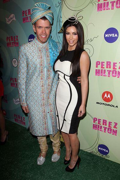 Kim Kardashian, Perez Hilton