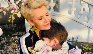 Joanna Racewicz chętnie publikuje zdjęcia ze swoim synem