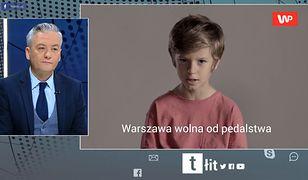 Robert Biedroń wstrząśnięty spotem WP