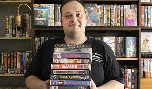 Fabio Soldani, kolekcjoner kaset wideo i producent amerykańskich filmów klasy B