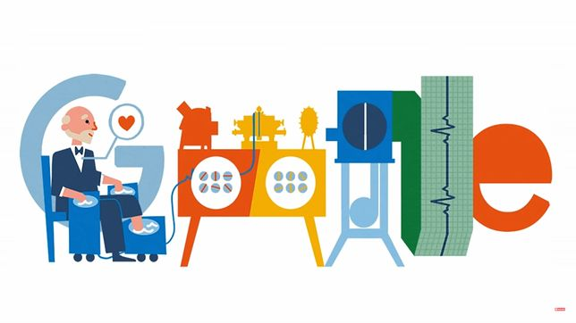Kim był Willem Einthoven - upamiętniony dzięki Google Doodle 21 maja