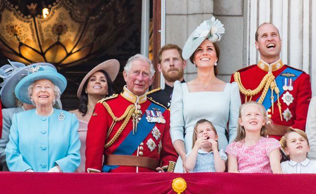 Rodzina królewska jeszcze w komplecie w 2018 roku
