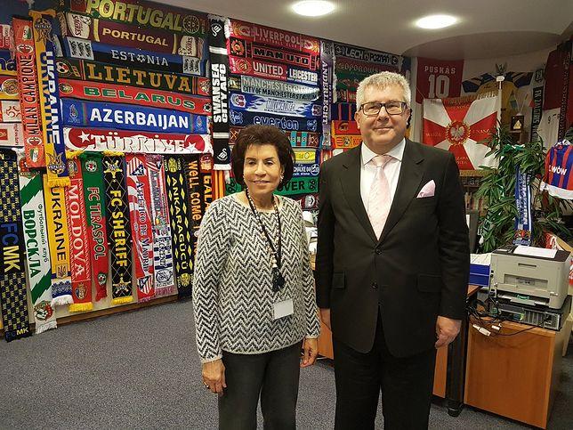Ambasador Bahrajnu w gabinecie Ryszarda Czarneckiego