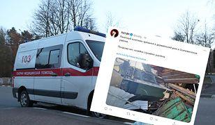 Wypadek na Białorusi. System rakietowy wjechał w dom