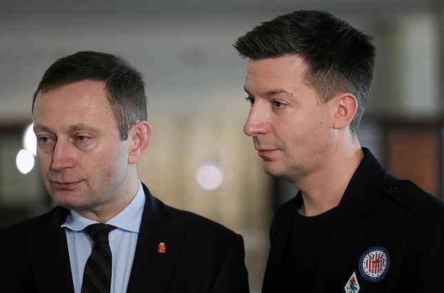 Pawel Rabiej i jego partner Michal Cessanis.