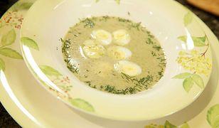Zupa szczawiowa Ewy Wachowicz