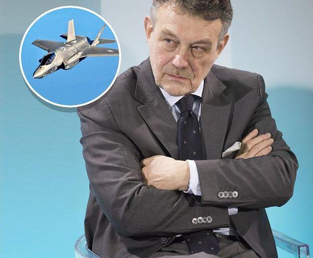 """Ryszard Schnepf o F-35. """"Su-55 jest lepszy i o połowę tańszy"""""""