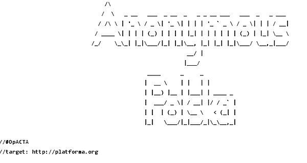 Anonymous ujawniają bazy danych rządu i hasła do maili