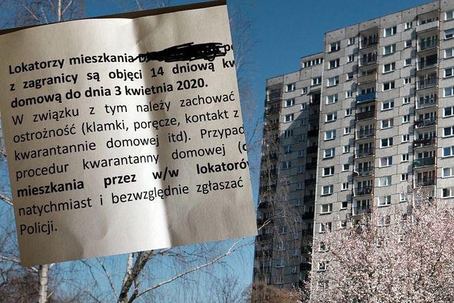 Polacy donoszą na innych w czasie pandemii