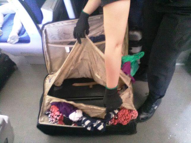 8-latek w walizce na polskiej granicy