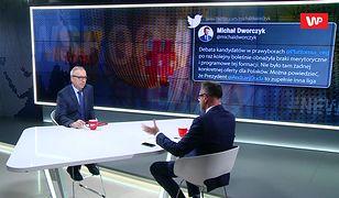 Co razi u Andrzeja Dudy? Bogdan Zdrojewski: krzyczy