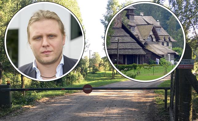 Piotr Woźniak-Starak poszukiwany. Rodzinny azyl budowali mieszkańcy. Teraz tam pracują
