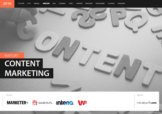 "Raport Interaktywnie.com ""Content Marketing"""