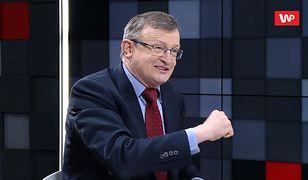 Tadeusz Cymański stwierdził, że broni dobrego imienia Mariusza Kamińskiego