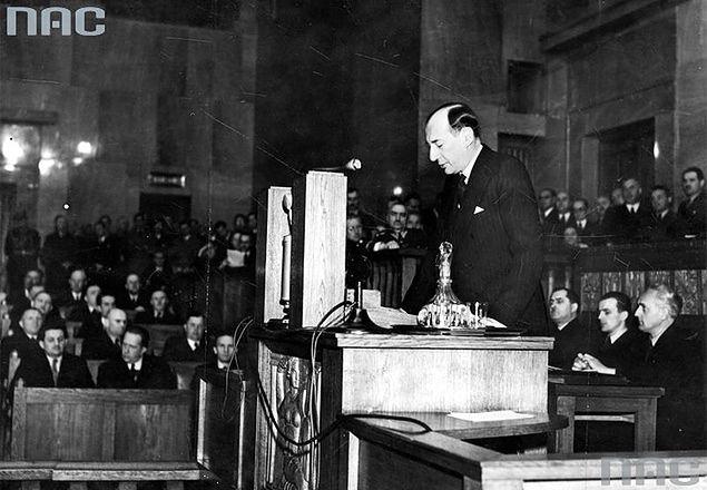 Przemówienie Józefa Becka w sejmie, 5 maja 1939 r.