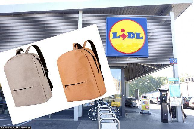 Lidl i papierowe plecaki. W sprzedaży pojawiły się ekologiczne plecaki w stylu miejskim