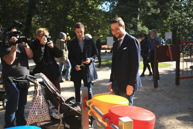 Plac zabaw integracyjny w Łazienkach Królewskich