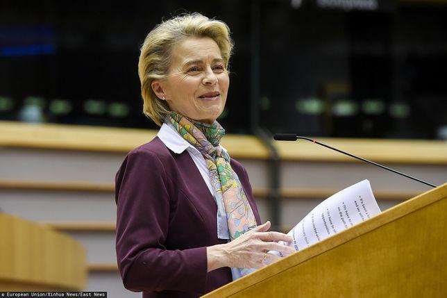 Ursula von der Leyen przedstawi projekt ws. paszportów szczepionkowych