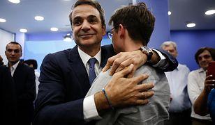 Kyriakos Mitsotakis (lider Nowej Demokracji) - zwycięzca wyborów w Grecji