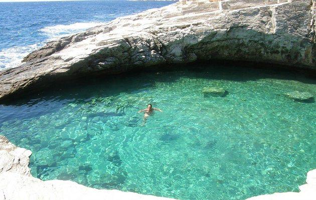 Laguna Giola, Grecja