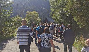 Szlak na Morskie Oko w Tatrach