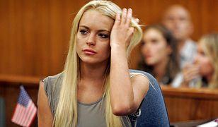 Lindsay Lohan na sali sądowej w 2007 r.