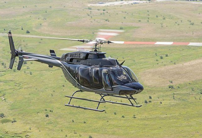 Policja kupiła śmigłowce Bell-407GXi
