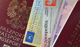 Paszport, dowód rejestracyjny, prawo jazdy - tych dokumentów nie trzeba będzie przekazywać