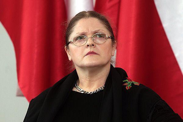 Krystyna Pawłowicz ostrzega przed kolejnym etapem obalania rządu
