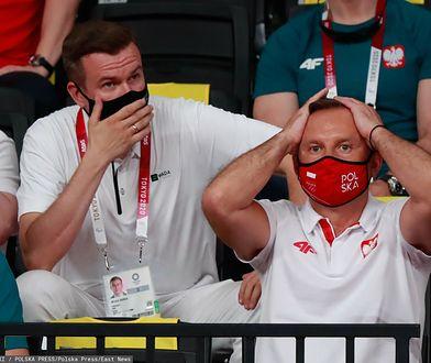 Tokio 2020. Prezydent Andrzej Duda przyłapany na trybunach