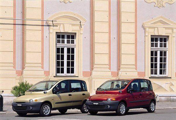 Miejsce 10 - Fiat Multipla