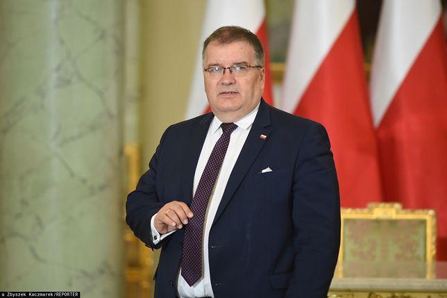 Batalia o sądy. Andrzej Dera: pan prezydent Andrzej Duda się martwi