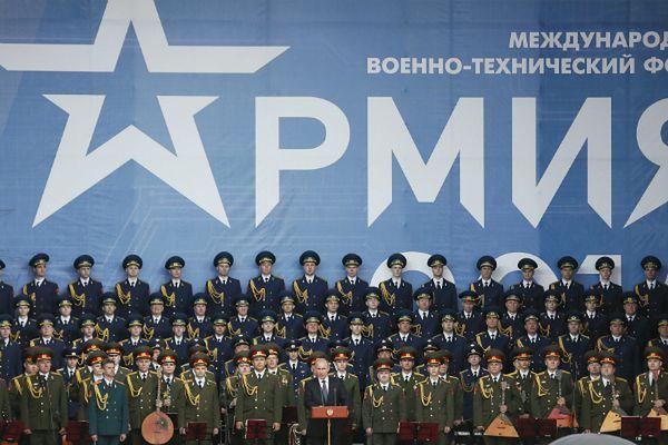 """Putin zapowiada wzrost potęgi wojskowej Rosji. """"NYT"""": częściowo jest to fantastyka"""